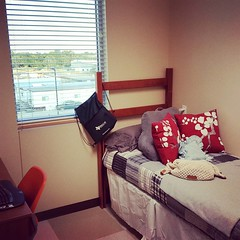And dorm life begins for K8...