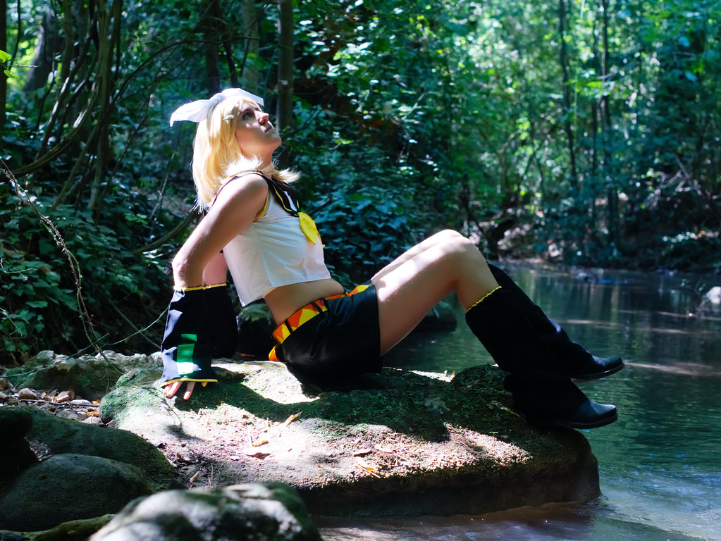 related image - Shooting Rin kagamine - Vocaloid - Parc de Saint Pons -Gemenos- 2015-08-05- P1170831