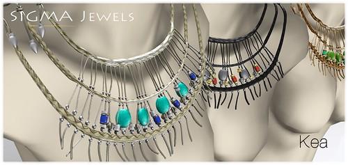 Kea necklaces