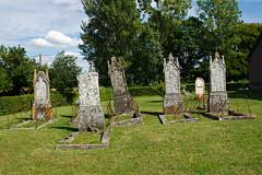 Tombes du cimetières de Quévreville-la-Milon