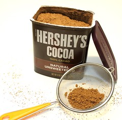 6 cocoa powder  for Raspberry Tiramisu