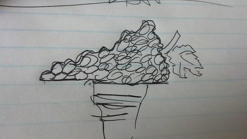 Virginia is for Wine Lovers Sketch