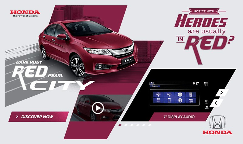 Honda City Red Ruby