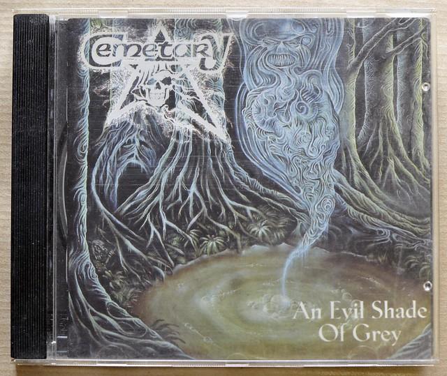 CEMETARY AN EVIL SHADE OF GREY BLACK MARK IMPORT CD