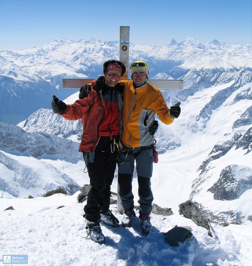 Grosser Aletschhorn Berner Alpen / Alpes bernoises Schweiz foto 20