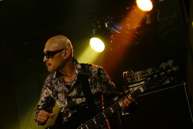 Coal Tar Moon live at 獅子王, Tokyo, 23 Sep 2015. 169