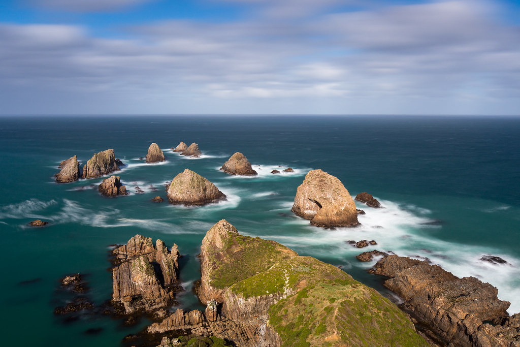 Nugget Point / New Zealand