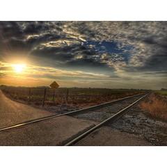 Oklahoma mornings #sunrise #oklahoma #oklahomasky #hdr