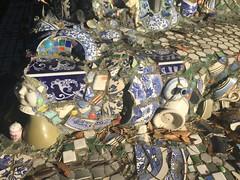 Mosaic Sculpture at the Joan Mitchell Center, Bayou …