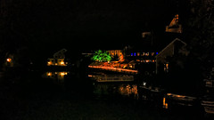 Saluhallen at night