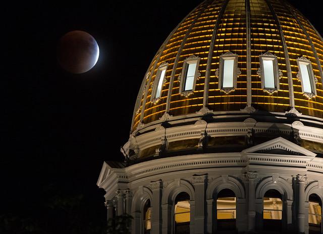 Supermoon Lunar Eclipse (NHQ201509270201)