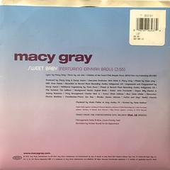 MACY GRAY:SWEET BABY(JACKET B)