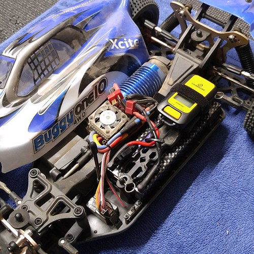 Ready for speedrun with the XciteRC One10 Buggy.  #speedrun #XciteRC #one10 #brushless #buggy
