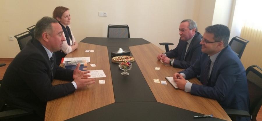 Первый замминистра курортов и туризма Кубани провел рабочую встречу в Баку