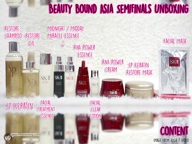 Beauty Bound Asia Semifinals Unboxing