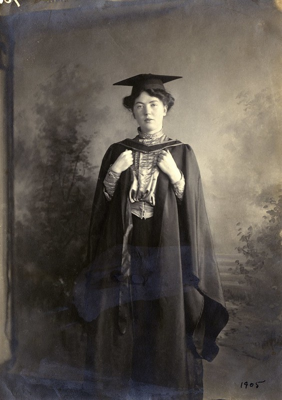 Christabel Pankhurst, c.1905. Credit: LSE Library