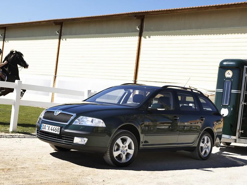 Полноприводная Škoda Octavia Combi 4x4 (1Z). 2004 – 2008 годы