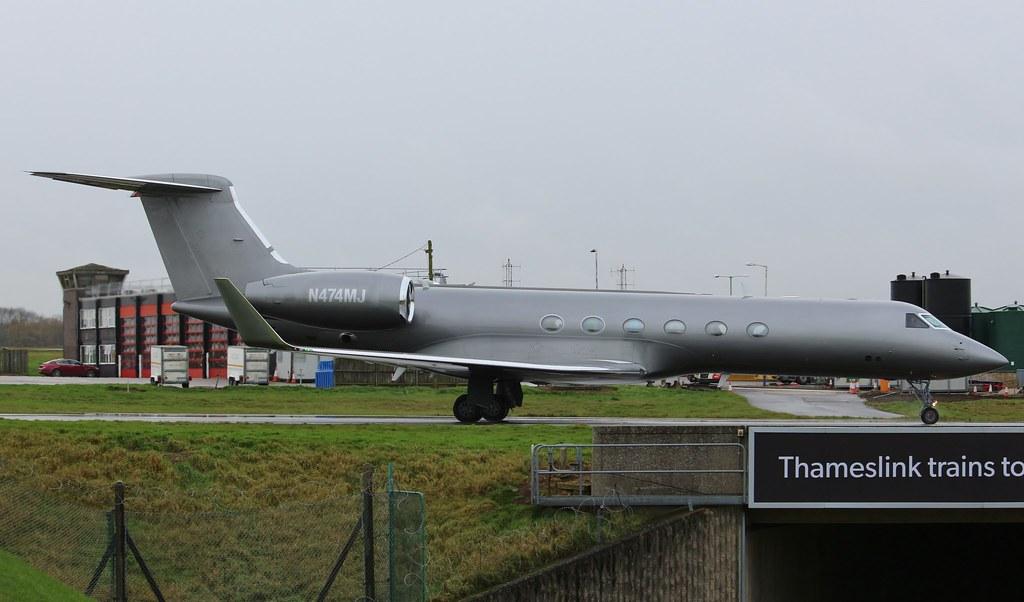 N474MJ - GLF5 - Nordwind Airlines