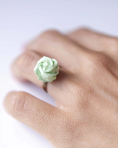 Origami Rose Ring