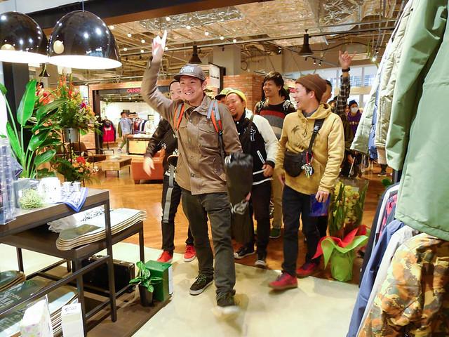 VOLCOM STORE OSAKA EXPOCITY : DAY ONE