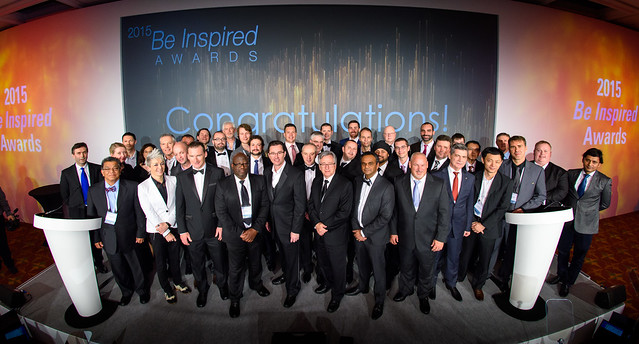 2015 Be Inspired Award Winners