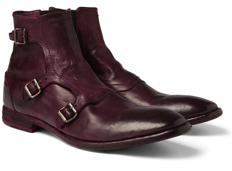 Monk Strap Boots