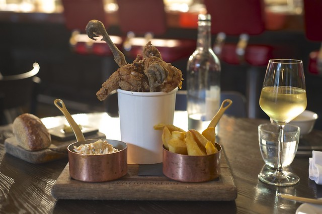 Finger Lickin' Pheasant Bucket at The Jugged Hare