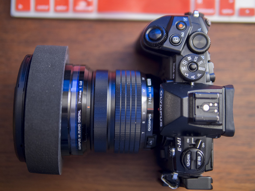 Porte filtre pour l'Olympus 7-14mm Pro F2.8 22965161492_8fd8f8a575_b