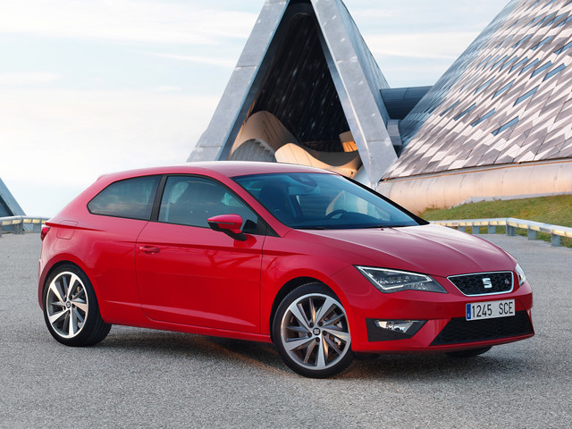 SEAT Leon Sports Coupe. 2013 год