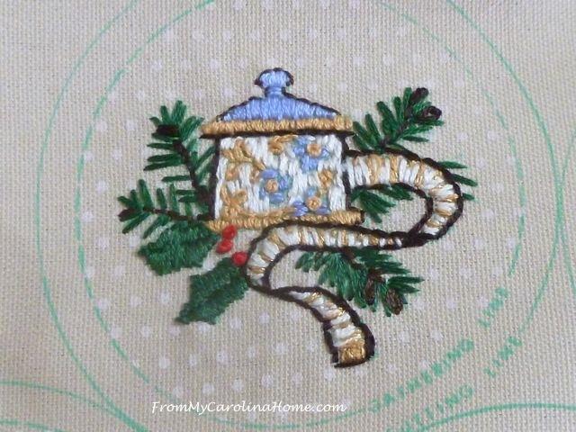Stitching Ornaments Week 9 - 5