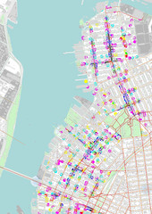 Brooklyn Space Syntax and Activity Patterns