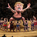Yokozuna Trump Towers Over His Challengers by DonkeyHotey