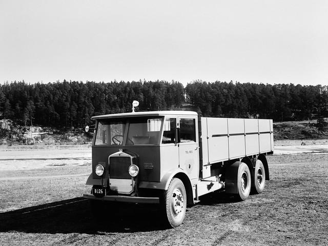 Бортовой грузовик Scania-Vabis 355. 1933 год