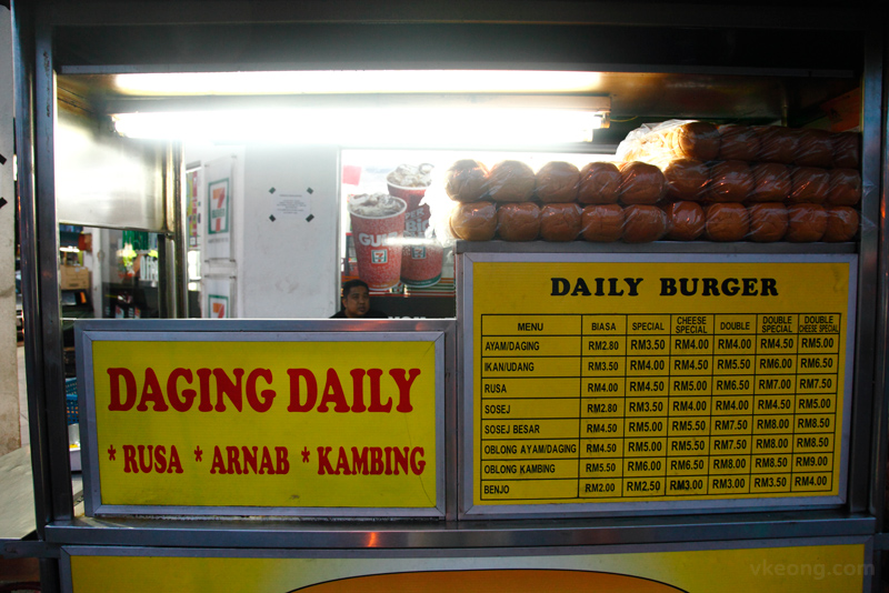 Daily Burger Gombak Prices