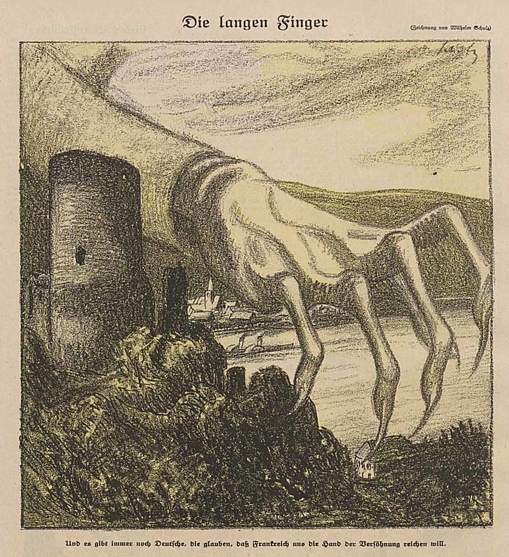 Wilhelm Schulz - The Long Fingers, 1922