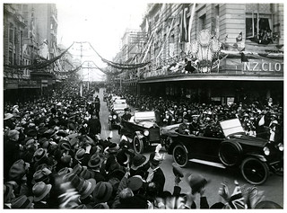 Prince of Wales in Dunedin, Royal Tour 1920