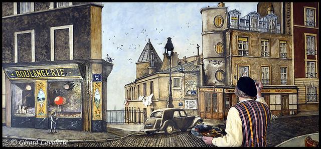 la fresque du Vieux Belleville