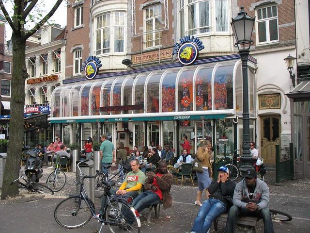 Amsterdam Coffee Shops Map App