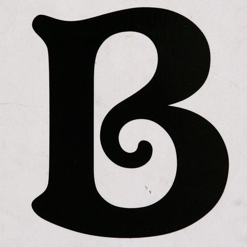 Letter b leo reynolds flickr for B b com