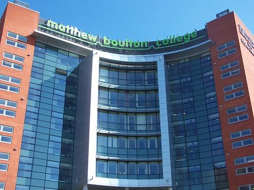 Exterior, Matthew Boulton Campus, Birmingham Metropolitan College