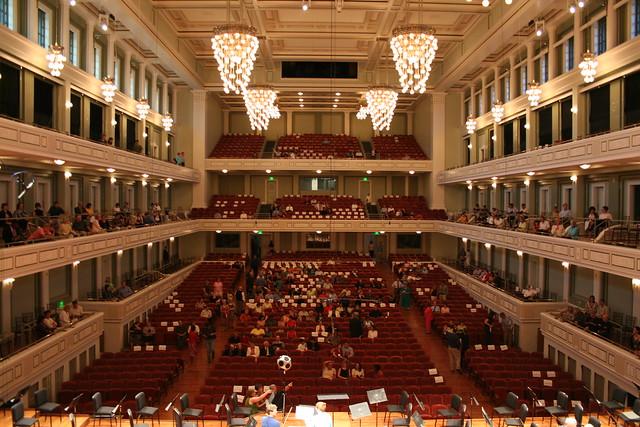 Laura Turner Concert Hall, Schermerhorn Symphony Center, N ...