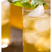 coconut mint iced tea