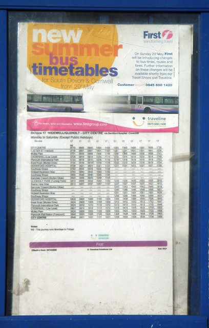 Old-Bus-Timetable