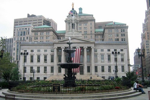 NYC - Brooklyn -  Downtown: Columbus Park and Borough Hall