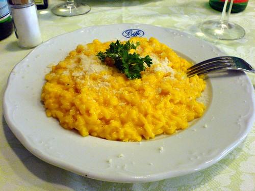Saffron Risotto Milanese Style