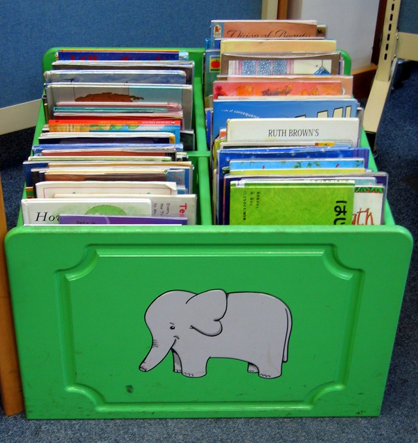 Elephant book box