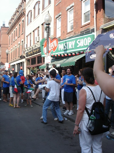 The North End celebrates