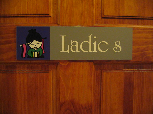 Women's restroom sign | by eszter