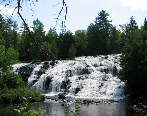 Bond Falls, near Watersmeet, MI