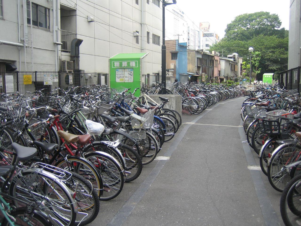 Shibuya Station Bicycle Parking